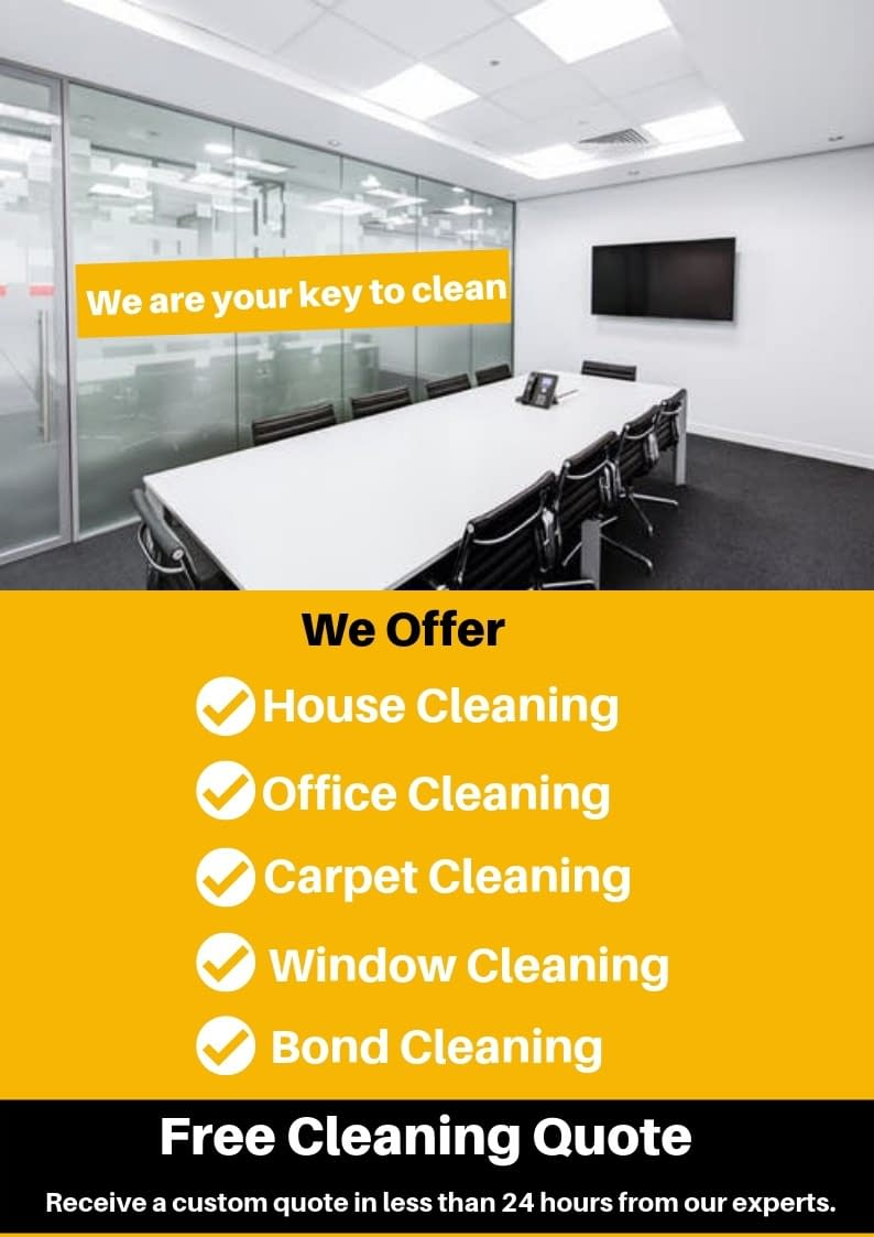 cleaning services sidebar