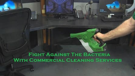 Fight Against The Bacteria With Commercial Cleaning Services