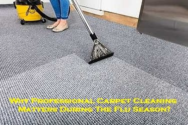 Why Professional Carpet Cleaning Matters During The Flu Season?