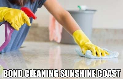 Bond Cleaning Services available in Sunshine Coast