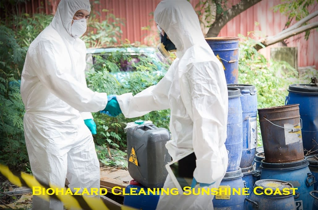 Biohazard Cleaning Sunshine Coast
