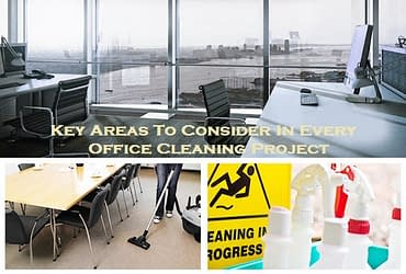 Key Areas To Consider In Every Office Cleaning Project